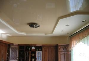 Как подобрать освещение для натяжных потолков на кухне?